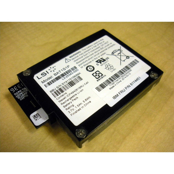 IBM 81Y4451 81Y4419 ServeRAID M5015 M5000 Battery via Flagship Tech