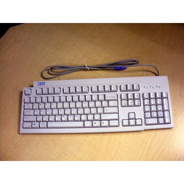 IBM 02K0849 White Keyboard for PS/2 3153-BG3 RS6000 pSeries Server via Flagship Tech