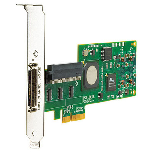 Dell LSI Logic LSI20320IE PCI-E SCSI Controller Card NU947