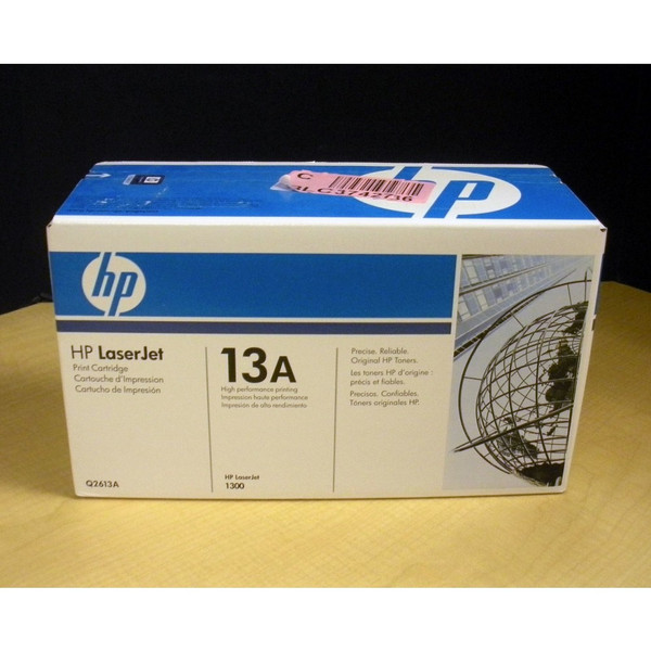 HP Q2613A 13A Black Laser Jet 1300 Ink Cartridge Printer Parts via Flagship Tech