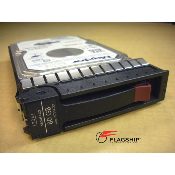 HP 349237-B21 397551-001 80GB 7.2K Hot Plug SATA LFF Hard Drive