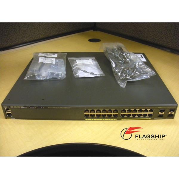 Cisco WS-C2960X-24PS-L 24 Port PoE Ethernet Switch