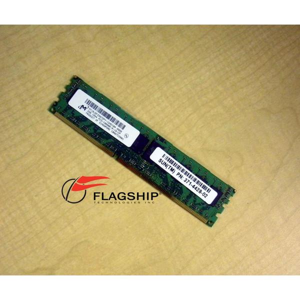 Sun 371-4428 X8337A 2GB DDR3-1333 DIMM for Sun Fire X2270 and Blade X6275 IT Hardware via Flagship Technologies, Inc, Flagship Tech, Flagship, Tech, Technology, Technologies