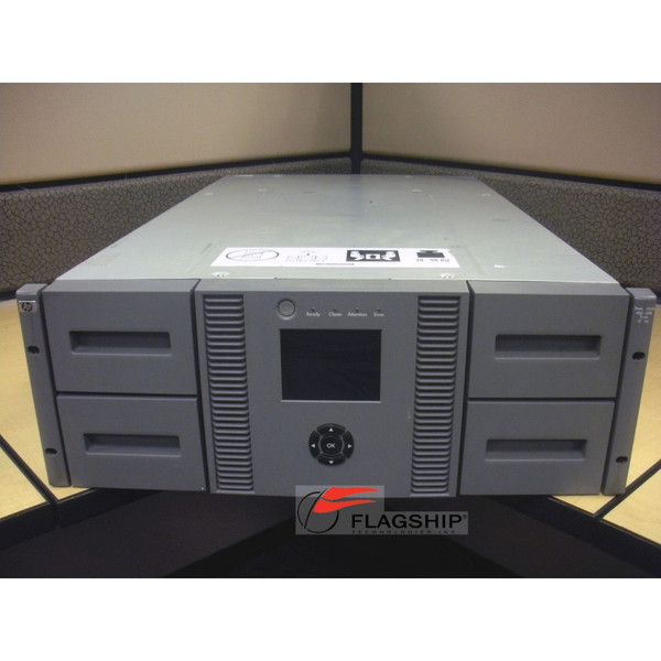 HP AK380A MSL4048 2 Drv U1760 LTO-4 SAS Tape Library (no rack kit)