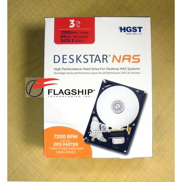 "Hitachi H3IKNAS0003272SN 3TB 7.2K SATA 3.5"" Hard Drive"