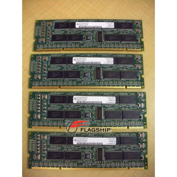 Sun X7051A-Z 2GB (4x 512MB) Memory Kit 501-7385 RoHS