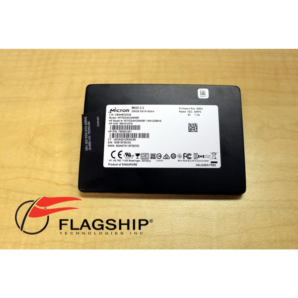 Micron MTFDDAK256MBF 256GB 2.5 SATA M600 SDD
