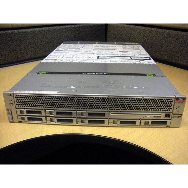 SUN T3-1 16 CORE 1.65GHZ, 64GB RAM, 2X 300BG * 16 BAY SERVER