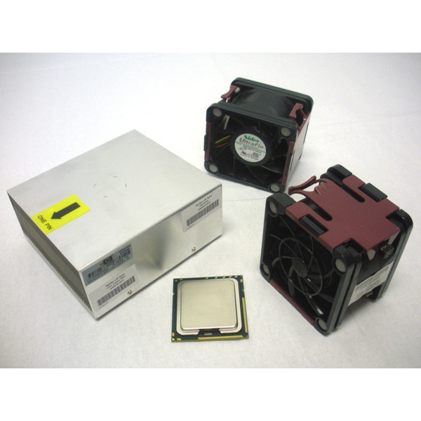 HP 492234-B21 490070-001 X5550 QC 2.66GHz/8MB Processor Kit for DL380 G6 w/ Fans