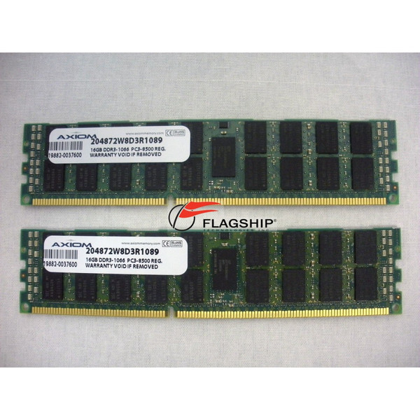 AM363A 3rd Party (AXIOM Brand) 32GB DDR3 Memory Kit (2x 16GB)