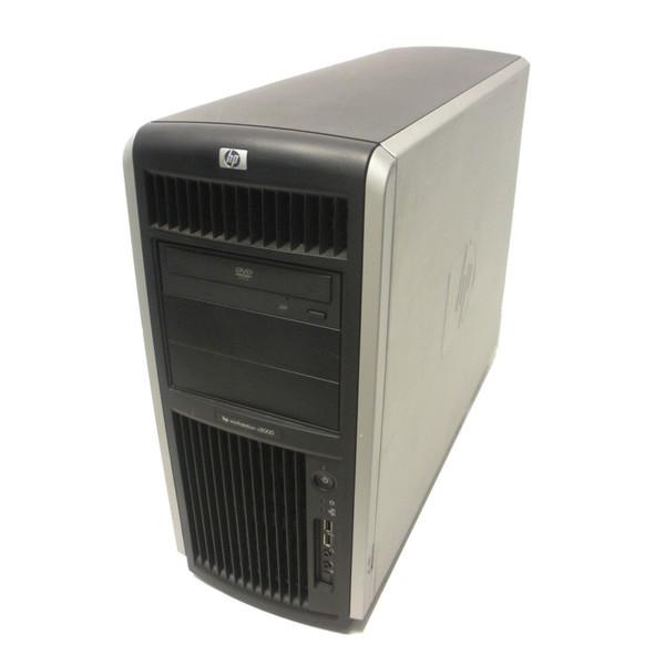 HP AB629A c8000 Workstation 1GHz DC PA8900 CPU 4GB 73GB 10K ATI DVD Pedestal