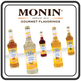 Monin SUGAR FREE Syrups - 750ml Glass Bottle