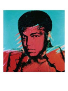 Andy Warhol Muhammad Ali Rare Official Authorized