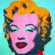 Andy Warhol, Rare Official Marilyn Monroe Portrait Green