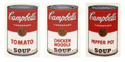 Andy Warhol Sunday B Morning Campbells Soup Suite Of 3
