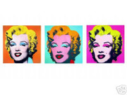 Andy Warhol Ultimate Marilyn Monroe 3 Portrait Suite