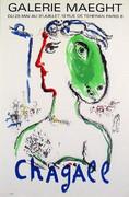 Chagall Rare Vintage Mourlot Paris Coa Litho Phoenix