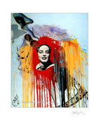 Exceptional Rare Exclusive Salvador Dali Marilyn Monroe Print