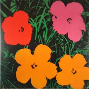 Fabulous Official Authorized Warhol Sophisticated Flowers!