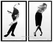Fabulous Robert Longo Men In Cities Hand Signed LE SeT - 1 Sold