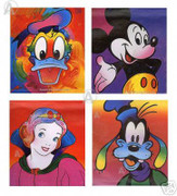 Peter Max Complete Commemorative Disney Suite Serigraphs