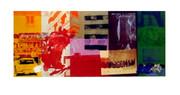 Rare Early 1990s Robert Rauschenberg Museum Print '