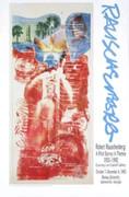 Robert Rauschenberg 1990s Art Exhibition Litho