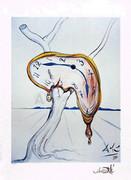 Salvador Dali Sign & Num 402/500 Melting Watch W/coa