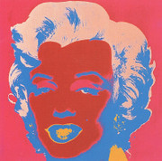 Sunday B Morning Warhol Marilyn Print(rose)