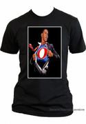 Barack Obama Collectible Superman Obamaman T-shirt
