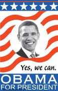 Barack Obama For President Campaign Poster