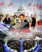 Barack Obama Inaugural Photo Collage