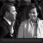 Barack Obama – Taking The Oath Photograph