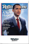 Collectible Barack Obama Rolling Stones Cover Poster