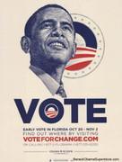 Cool Barack Obama Florida Campaign Poster