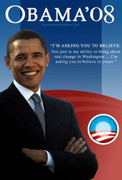 Fab Barack Obama Collectible Campaign Poster Large