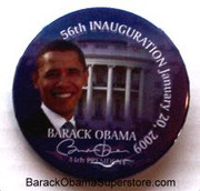 Fab Barack Obama Presidential Inaugration Collectible Btn -12