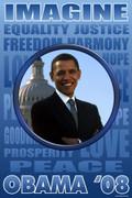 Imagine Obama For President