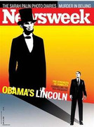 Newsweek Magazine Barack Obama Lincoln Cover Issue 2008