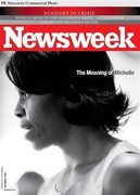 Newsweek Magazine Michelle Obama Cover Issue 2009