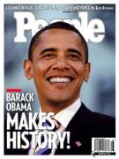 People Magazine Barack Obama Cover Issue 2008