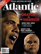 The Atlantic Magazine Barack Obama Orator Cover Issue 2008