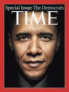 Time Magazine Barack Obama Democrats Cover Issue 2008