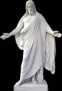 Splendid Rare Jesus Christ Statue Sculpture Must See!