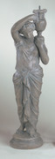 Striking Roman Girl Sculpture Statue