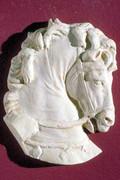 Stunning Grecian Horse Headsculpture Statue