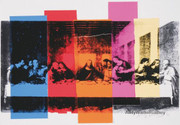 Andy Warhol Last Supper Close up c. 1986