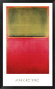 Green, Red, on Orange - Mark Rothko