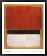 Untitled (Red, Black, White on Yellow), 1955 - Mark Rothko