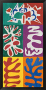 Panel with Mask, 1947 - Henri Matisse